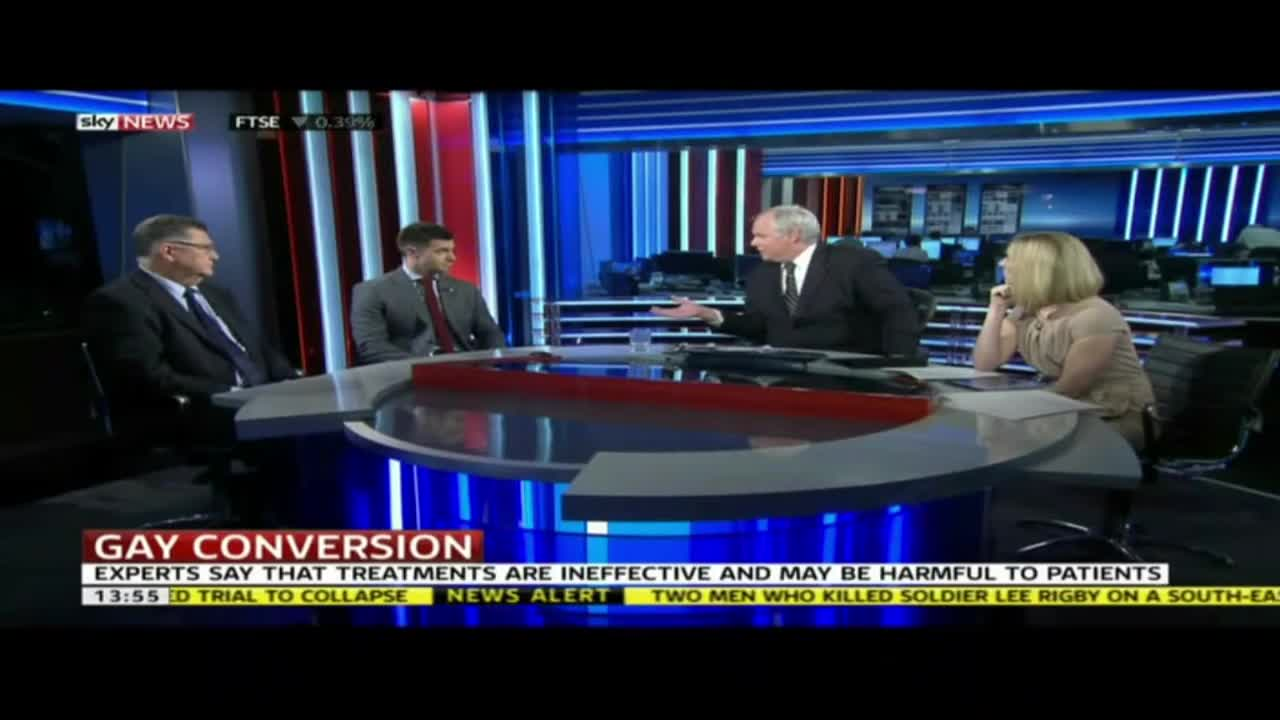 Gay  Conversion Therapy  Sky News March 2014 1080p