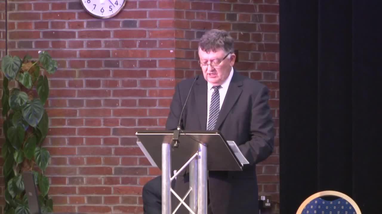 Mike Davidson introduces session on position on Memorandum of Understanding 1080p