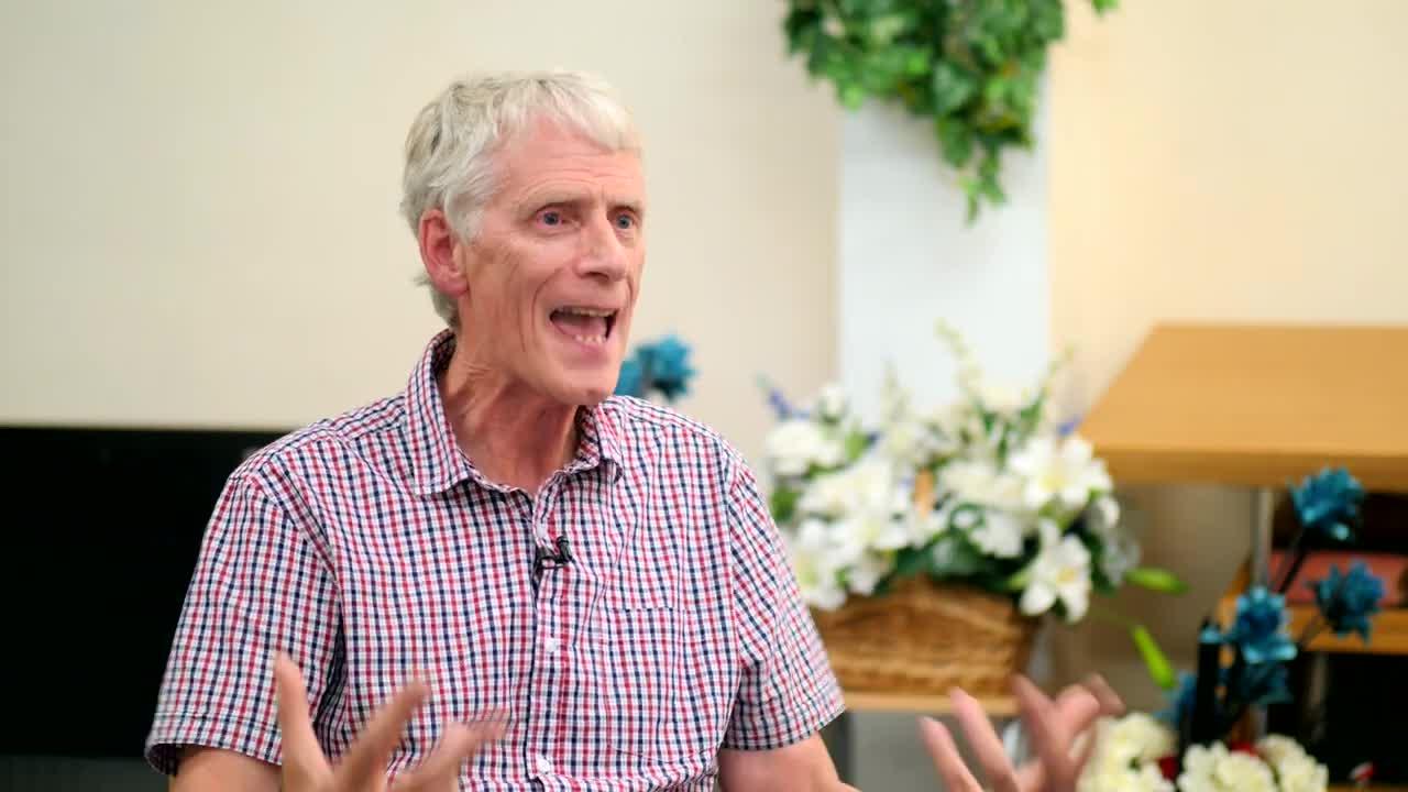 Pastor Simon Wyatt, Bethel Christian Assembly, Shalford UK.