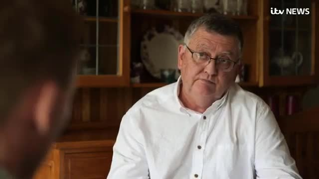 Mike Davidson speaks to Paul Brand ITV News