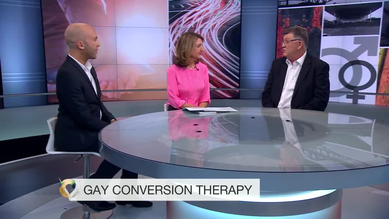 Victoria Derbyshire speaks to Patrick Strudwick and Mike Davidson about Conversion Therapy